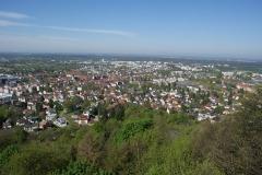 """""""Weitblick"""" auf Ettlingen ..."""