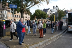 Danach geht es zu Fuß zur Altstadtführung unter ortskundiger Leitung.