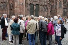 Das Straßburger Münster bildet den Abschluß ...